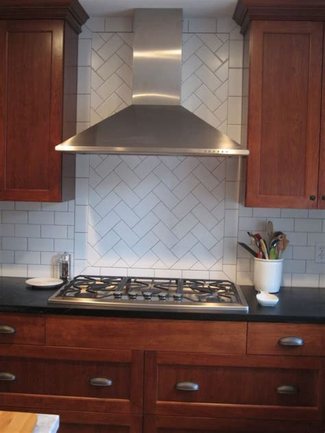 tile backsplash kitchen backsplash ideas outstanding herringbone pattern