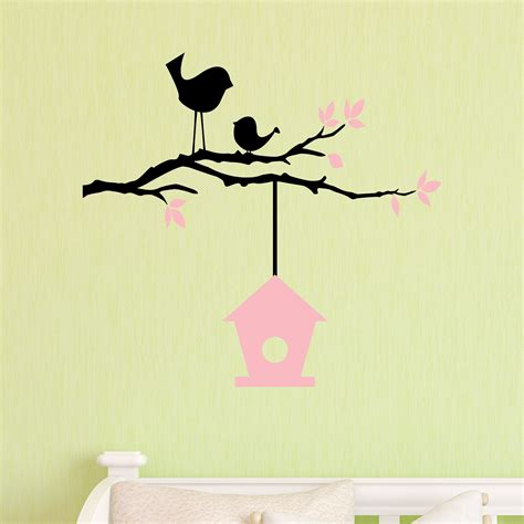 Nursery Quotes Wall Decals Birds Nursery Wall Quotes Decal Wallquotes