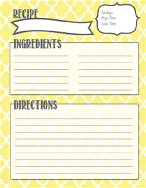 free printable recipe card borders 1000 images about borders recipe cards on pinterest
