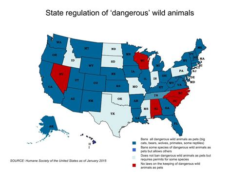 which state has the most dog owners per capita 2016 limits to exotic pets in wisconsin loom but critics cite
