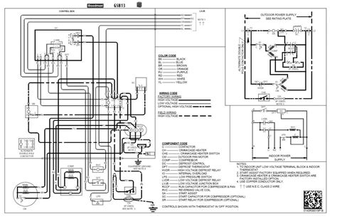 diagram for wiring ruud ac unit ruud air conditioner fan