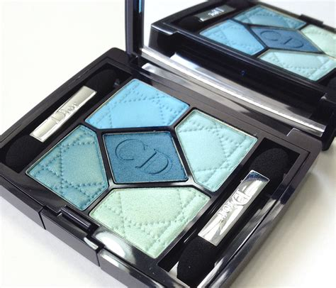 light blue eyeshadow palette maggie s makeup dior birds of paradise summer 2013 blue