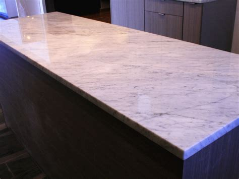White Marble Countertop by Wl Cm Works Granite Countertops Chicago