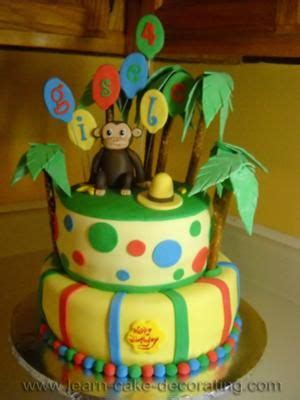 Curious George Cake Decorations by Curious George Cake Cake Ideas