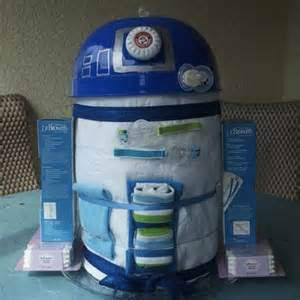 How To Make A Bathtub Diaper Cake R2 D2 Diaper Cake Craziest Gadgets