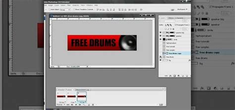 tutorial photoshop cs3 banner how to make a animated banner for myspace in photoshop