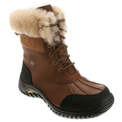 uggs snow boots for lyst ugg adirondack boot ii in black