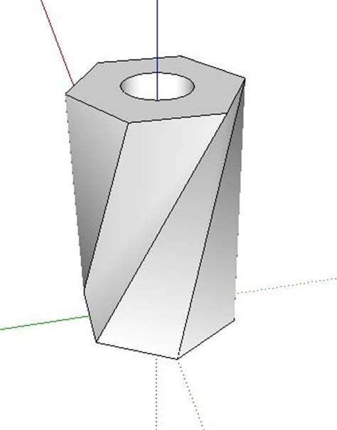 Sketchup Vase by Design A Flower Vase On Sketchup