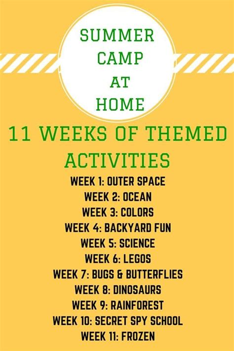 theme names for summer c 25 best ideas about summer school themes on pinterest