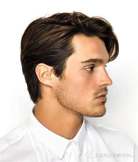men medium haircut lengths pictures with back bald spot character inspiration mens hairstyle 2015 and dark brown