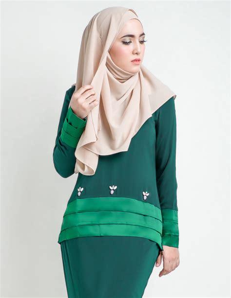 Baju Sedondon Emerald Green baju kurung moden anessa emerald green lovelysuri