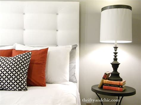 easy diy headboard thrifty and chic diy projects and home decor
