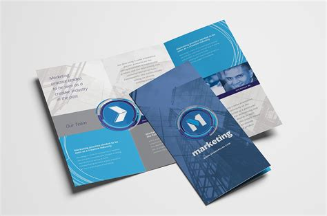 illustrator tri fold and business card template tri fold template illustrator square tri fold brochure