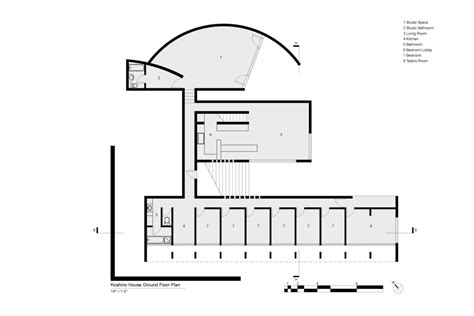 tadao ando floor plans koshino house ground floor plan tadao ando tadao ando