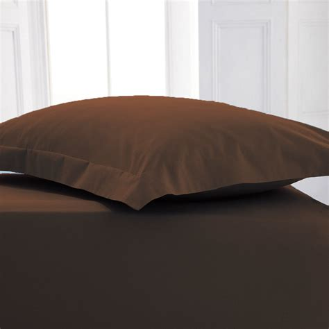 fitted bed sheet 4 foot small double poly cotton fitted bed sheets bed linen ebay