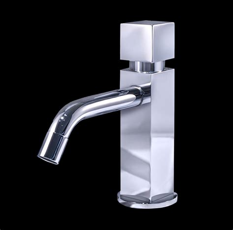 Modern Bathroom Faucets Zara Chrome Finish Modern Bathroom Faucet
