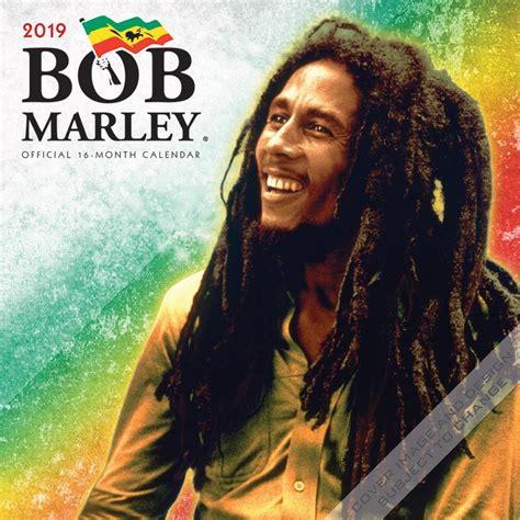 Bob Marley 12 bob marley 2019 12 x 12 inch monthly square wall calendar