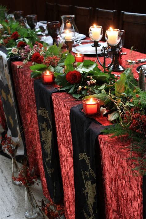 medieval christmas decorations a royal wedding brocade events