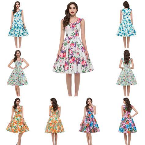 dress pattern ladies vintage flower pattern women casual dress 2015 robe sexy