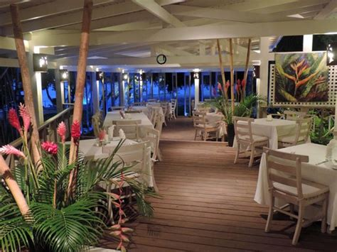 the house restaurant interior dining picture of the beach house restaurant grand anse tripadvisor