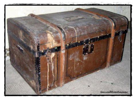 alter reisekoffer gro 223 er alter koffer reisekoffer autokoffer truhe