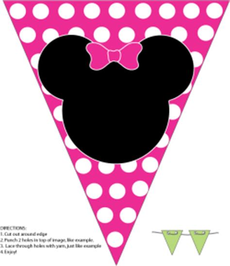 printable minnie mouse party decorations minnie wall banner minnie mouse party decorations free