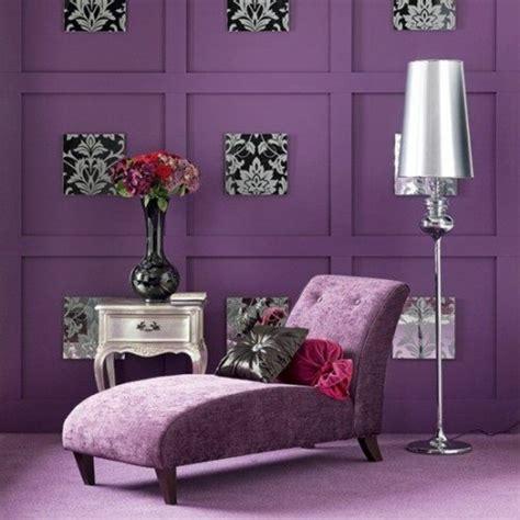 wohnideen lila lila zimmer erscheinen als eyecatcher im haus