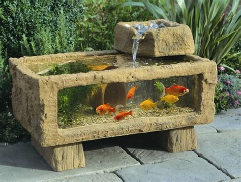 Fontaine Kitchen Faucet by Outdoor Aquarium Is Perfect Addition To Any Backyard
