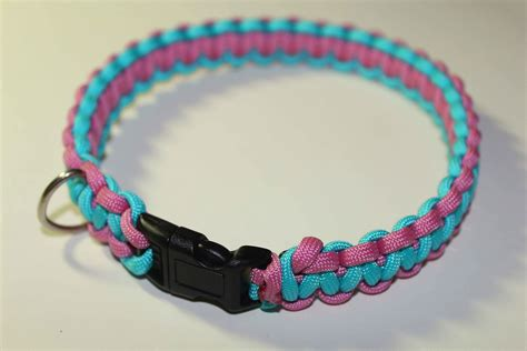 paracord harness tutorial paracord collar