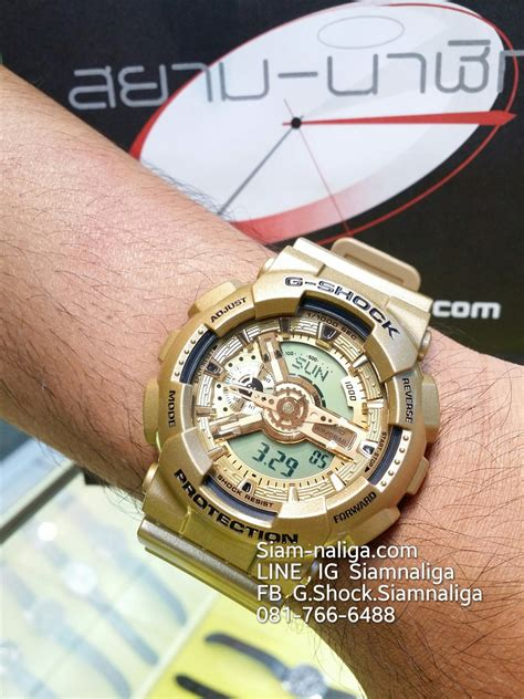Casio G Shock Ga 110gd 9adr by ร านสยามนาฬ กา Casio G Shock Seiko Baby G Alba Casio G