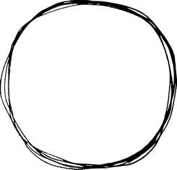 Scribble Outline 10 scribble circle png transparent onlygfx
