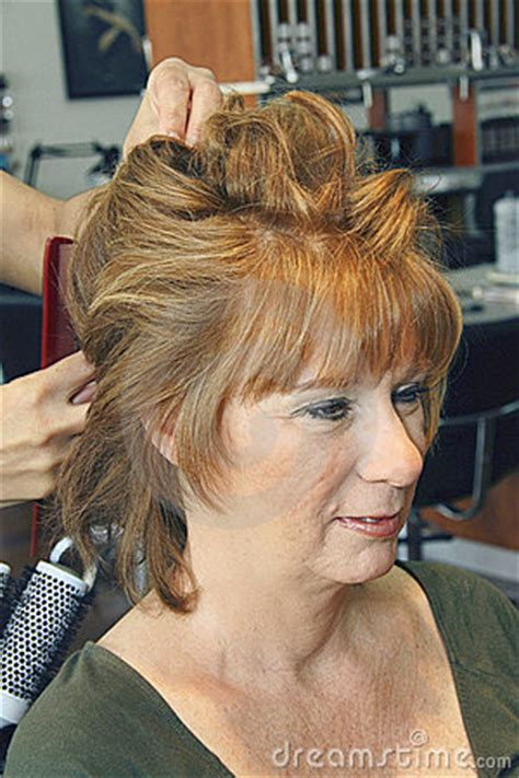 denver hair salons for middle aged women middle aged red haired female stock images image 14520754