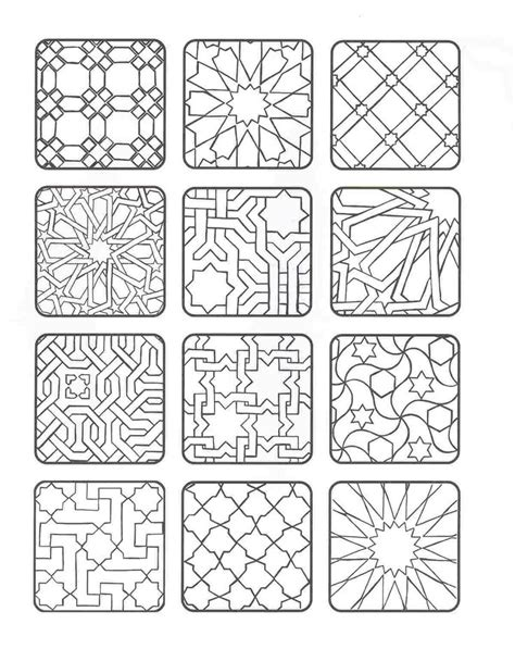 islamic pattern color 1068 best graphics templates images on pinterest