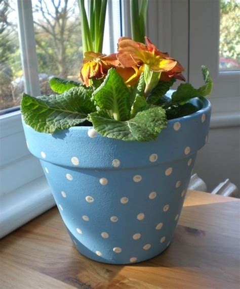 Garden Pot Painting Ideas 40 Flower Pot Painting Ideas And Designs To Try