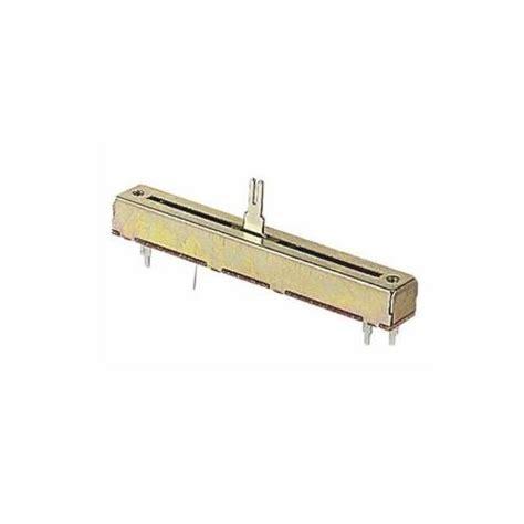 linear resistors slide potentiometer fader 60mm metal shaft linear 100k sl60v