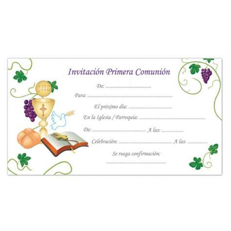 invitacion de primera comunion dibujo invitacion primera comunion
