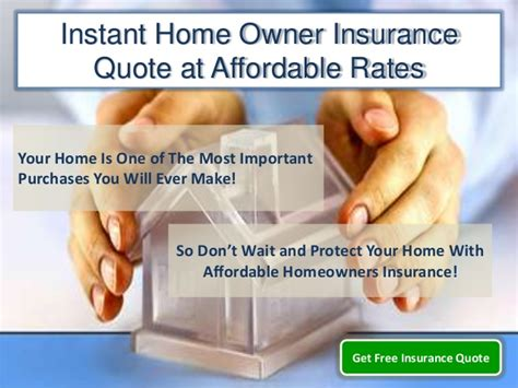 Instant Insurance Quote by Instant Home Owner Insurance Quote Get Cheap Home