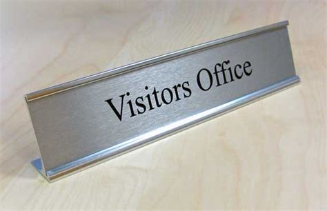 Office Desk Signs Executive Desktop Signs Corporate Door Signs Office Sign Company S