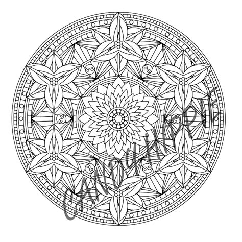 yin yang coloring book pages free yinyang coloring pages