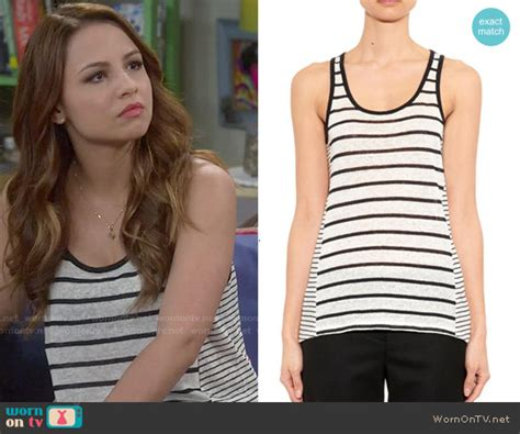 Aimee Stripes Top wornontv sofia s mixed stripe tank top on and