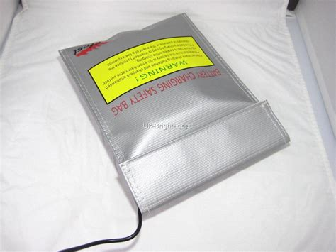 Efest Lipo Safety Charging Bag efest fireproof charger safety bag for li ion imr lipo 18650 18350 battery ebay
