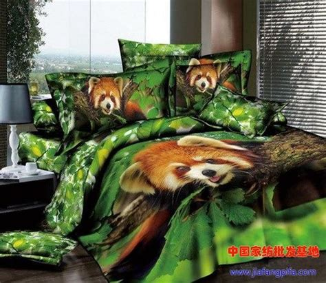 red panda print bedding set sets queen size bed sheet sheets duvet cover bedsets quilt cotton