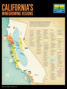wineries in southern california map california wine map regions