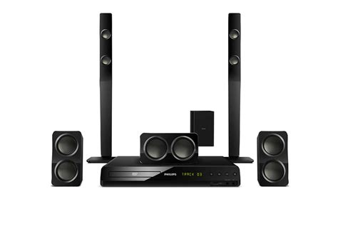 Home Theater Nuage 5 1 sistema de home theater 5 1 hts3538 55 philips