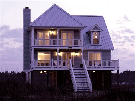 elevated house plans waterfront parham raised coastal home plan 024d 0013 house plans and more