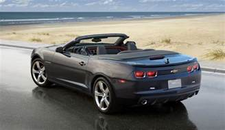 Chevrolet Camaro Convertible 2010 How Much Second Production Camaro Convertible Sells For