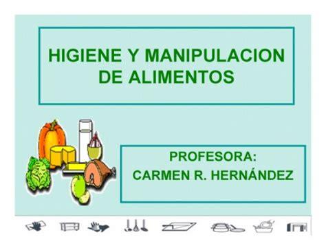 documento higiene  manipulacion de alimentos curso gruposemagistercom