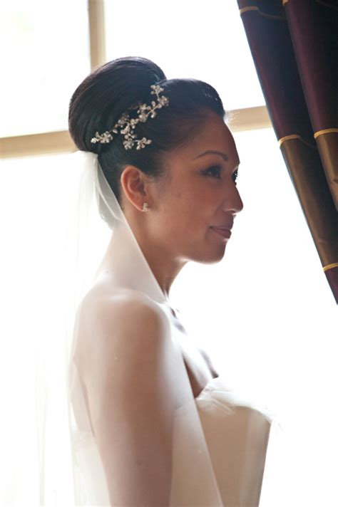 Wedding Hairstyles With Veil And High Bun by Wedding Hair Styles For Hair Wedding Make Up And