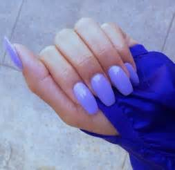 acrylic nails color nail nails nail purple baby baby purple light