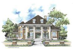 eplans colonial house plan two story great room 2256 plan 83382cl southern colonial with two story balcony